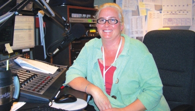 Sondra Woodward of WHRV Radio.